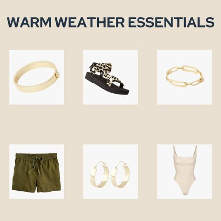 Warmer weather means staying comfy and cute! Shop my warm weather essentials from bodysuits, to jewelry, to linen shorts and adorable sandals! http://liketk.it/3e4Bt #liketkit @liketoknow.it #LTKfit #LTKstyletip #LTKbeauty @liketoknow.it.family