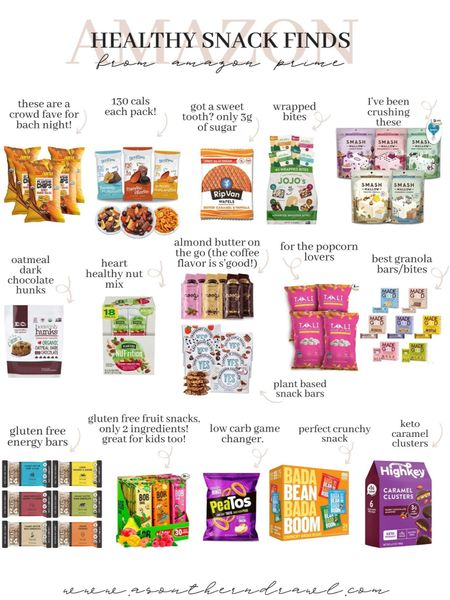 Healthy snack finds from Amazon finds   #LTKunder50 #LTKfit