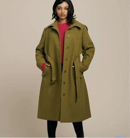 Gorgeous coat from 11 Honore. On sale now.  #LTKsalealert #LTKSeasonal