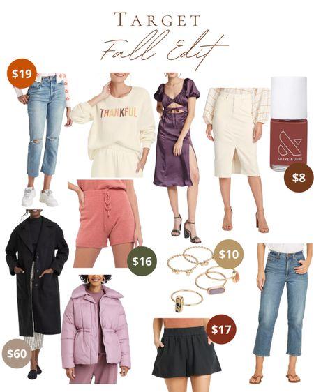 Target - Fall Edit  #LTKunder100 #LTKSeasonal #LTKstyletip