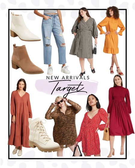 Obsessing over these new fashion items at Target!! These booties are GORG and all of these dresses are perfect for transitioning into fall.   #LTKcurves #LTKfit #LTKSeasonal