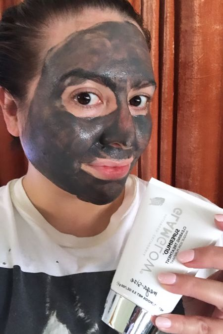 Today's mask: GlamGlow's SuperMud! This is my holy grail!   #LTKhome #LTKstyletip #LTKGiftGuide