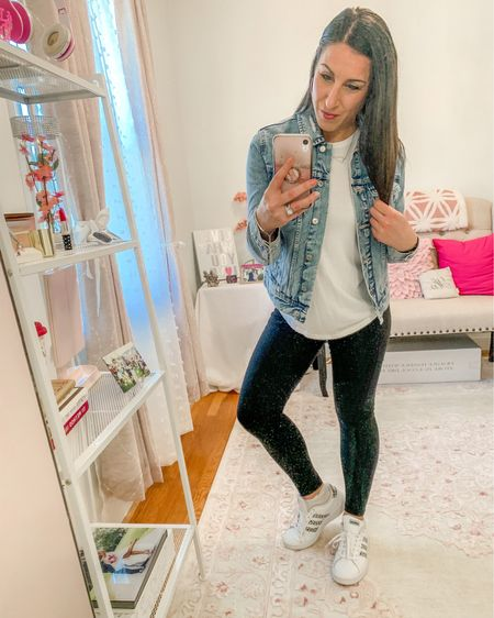 Jean jacket outfit http://liketk.it/3b4QK #liketkit @liketoknow.it #LTKSpringSale #LTKstyletip #LTKbeauty