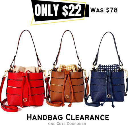 Gorgeous designer style handbags & totes on sale.   #LTKitbag #LTKsalealert #LTKunder50