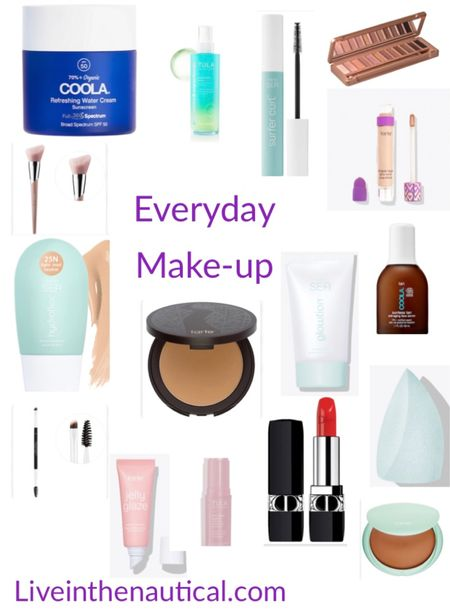 Everyday Make-up essentials. I love the glowtion from Tarte to even out my skin, while still being lightweight. Tartes hydroflex is lightweight while offering lots of coverage and tape shape lives up to the hype and more.   #LTKstyletip #LTKbeauty #LTKworkwear