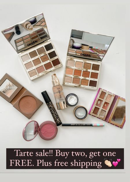 Linking up some of my favorite Tarte products!! They are doing a great sale today! Buy two, get one FREE. Plus free shipping on all orders! Use code FREE at checkout.   #LTKunder50 #LTKsalealert #LTKbeauty