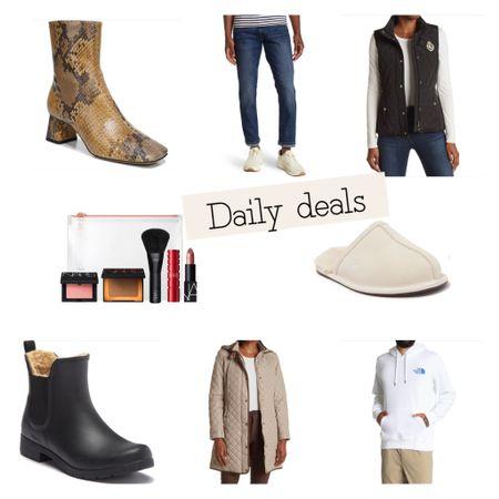 Daily deals on name brands for men and women. Ugg slippers house shoes fur lined chooka   #LTKsalealert #LTKunder50 #LTKGiftGuide