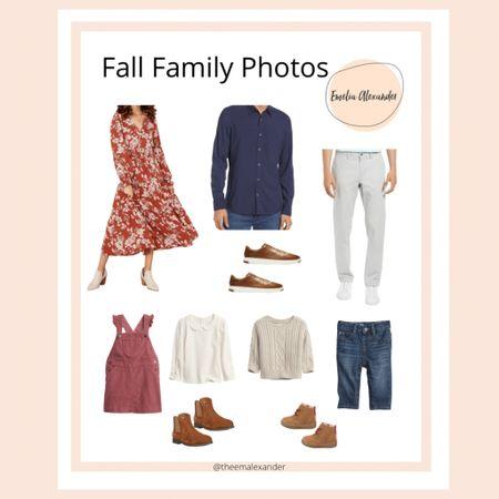 Fall family photo outfit idea Christmas card outfit Family photos   #LTKfamily #LTKunder100 #LTKstyletip