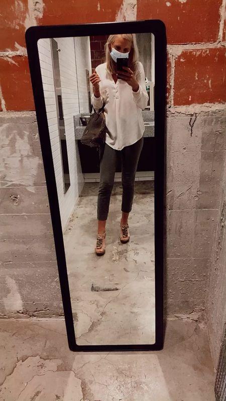 Work pants  Old navy Business casual Professional Office looks Teacher outfit   #LTKbacktoschool #LTKSeasonal #LTKunder50