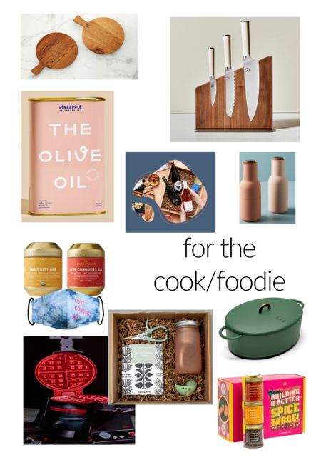 Gift ideas for a food lover. What to buy for your favorite cook. Black owned business to buy from. Small business gift list.  #LTKunder50 #LTKgiftspo #LTKunder100