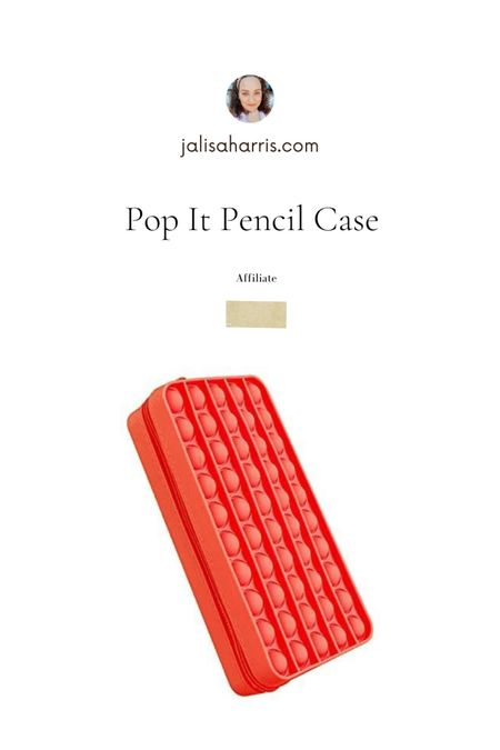 Cool pop it pencil case. Grade for kids who are adhd or have sensory issues   #LTKkids #LTKbacktoschool #LTKfamily