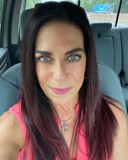 Brown eyeshadows that make my blue eyes pop.  #makeup for mature skin #thisis55 #darkhair #blueeyes  #LTKbeauty #LTKstyletip #LTKunder100 http://liketk.it/3g3BR #liketkit @liketoknow.it