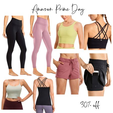Amazon prime day! The best affordable workout outfits. Lululemon but affordable! #workoutgear #leggings #affordablefinds @liketoknow.it #liketkit http://liketk.it/3i4Z9