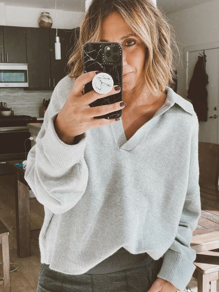 Love this sweater from Target.  Super soft and under $30.  Size up for an oversized fit   #LTKunder50 #LTKstyletip #LTKunder100