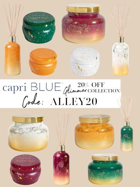 20% off Capri Blue candles glimmer collection with code ALLEY20 😍  #LTKsalealert #LTKunder50 #LTKhome
