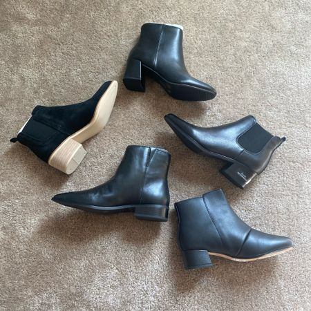 A great roundup of black booties for fall/winter. From Cervo, blondo, Chinese laundry and more. All from Nordstrom rack and under $100!  #LTKshoecrush #LTKSeasonal #LTKunder100