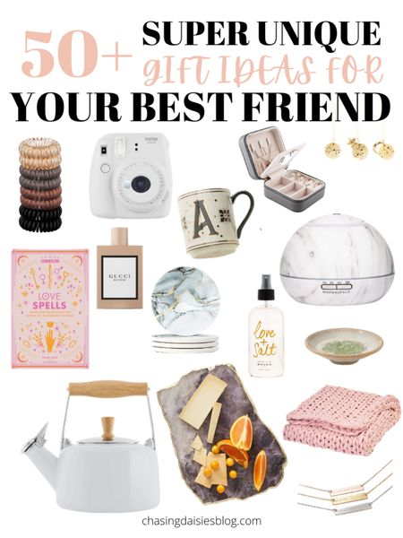Shop these gifts for your best friend. These are the best gifts for BFF or gifts for her. If you're looking for gifts for your best friend then you'll love these BFF gifts! #giftsforbff #giftsforbestfriend #giftguide #giftsforher #liketkit @liketoknow.it #LTKunder50 #LTKSeasonal #LTKunder100 http://liketk.it/38rvH