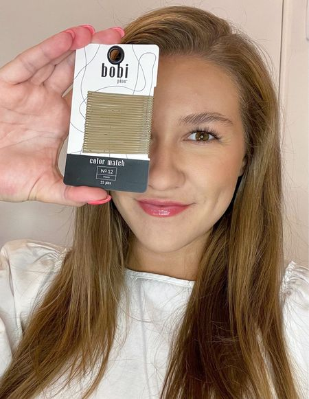 That color match though👏🏼👏🏼 Check out these awesome color matches bobby pins from Bobi—they're available in a bunch of colors on Amazon!  #LTKbeauty #LTKunder50 #LTKSeasonal