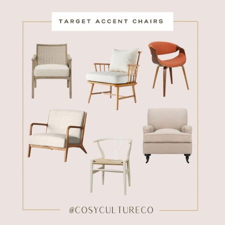 Accent chairs from target home   #decor   #LTKhome #LTKstyletip