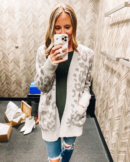 The coziest sweater ever, with a subtle leopard.  Barefoot Dreams / cardigan / fall style / nsale / Nordstrom http://liketk.it/2U6KS #liketkit @liketoknow.it #LTKsalealert #LTKstyletip #LTKunder100