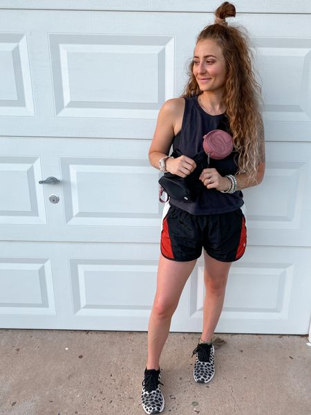 Small in free people: the way home colorblock shorts     #LTKunder50 #LTKfit #LTKshoecrush