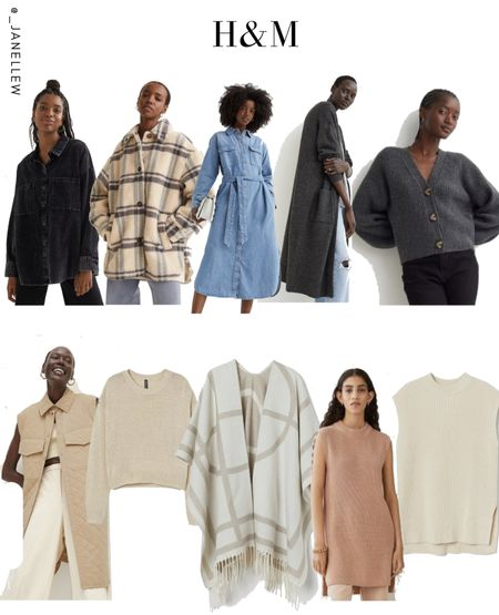 #poncho #neutrals #basics #neutralcolors #sweater #sweatervest #vest #knit #jacket #shacket #dress #maxidress #maxi #denim #hm #cardigan   #LTKSeasonal #LTKstyletip #LTKGiftGuide