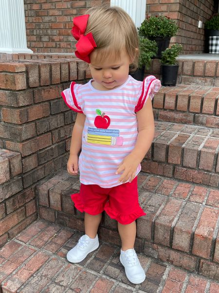 Toddler Back to School Outfit