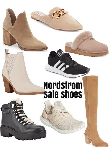 Nsale shoes!   Sneakers, adidas, ultra boost, mules, booties   #LTKsalealert #LTKunder50 #LTKshoecrush
