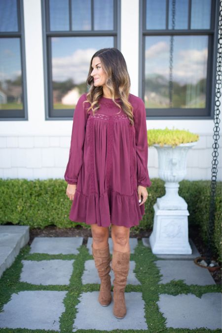 This under $40 dress is perfect for fall and family pictures!  #LTKSeasonal #LTKunder50 #LTKstyletip