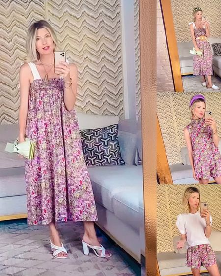 OBSESSED with the new Liberty print collection by BURU! I love that the company is doing their part to reduce waste and create washable piece for moms! Pieces that are fashion forward and timeless!  If I didn't have a 5month bump I would have scooped up this short set in a heartbeat, but can't wait to get my dress in!   http://liketk.it/3dI7n #liketkit @liketoknow.it #LTKbump #LTKstyletip #LTKfamily