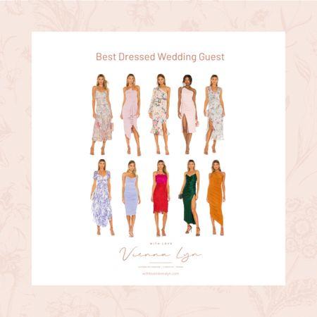 10 wedding guest dress ideas if you're attending a wedding. #weddingguestdress  #LTKSeasonal #LTKwedding