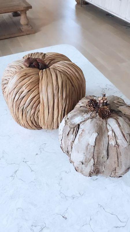 prettiest natural pumpkins   #LTKhome #LTKSeasonal #LTKunder50
