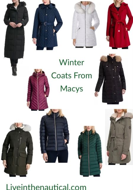Temperatures have gotten chilly! Here are some of my favorite winter coats from Macys and they are 40% off!   #LTKGiftGuide #LTKHoliday #LTKsalealert