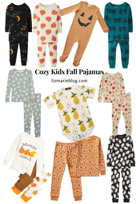 Fall is near! Keep your kids cozy with some fall pajamas!  #LTKkids #LTKbaby #LTKSeasonal