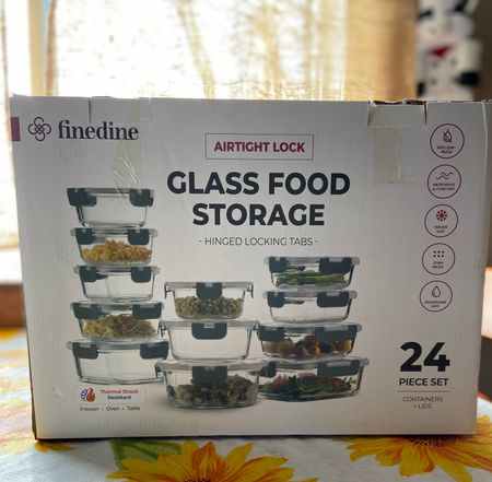 To say I am in love with my new glass storage set is an understatement! These are the best pieces I have ever used. Can use them in the microwave and was able to get rid of a lot of my plastic Tupperware. Out with the old in with the new glass storage set! I'm in love and I promise you will be too!   #StayHomeWithLTK #LTKhome #LTKNewYear