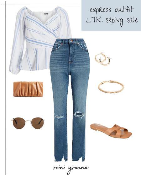 Express Outfit LTK Spring Sale  http://liketk.it/3ctE7 @liketoknow.it #liketkit   #LTKSpringSale #LTKsalealert #LTKunder100  Wedding Guest Outfit, Summer Fashion, Spring Fashion, Summer Outfit, Spring Outfit, Night Out Outfit, Express, Sale