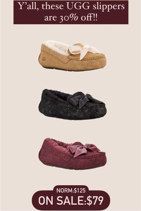 UGG slippers!! Excellent Christmas idea!!   #LTKGiftGuide #LTKsalealert #LTKHoliday