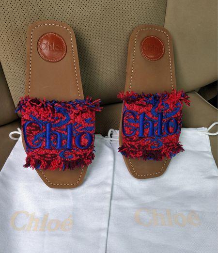 Cutest fringe Chloe sandals   #LTKSeasonal #LTKshoecrush #LTKtravel