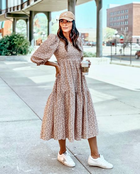 Dressing down, love this dress for fall and so easy to dress it up or down   #LTKstyletip #LTKworkwear #LTKunder100
