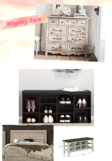 These sales are selling out fast so run to get new sets for your bedroom! Up to 80% off for bedroom dressers, beds, shoe storage, and so much more!   #LTKhome #LTKSeasonal #LTKsalealert