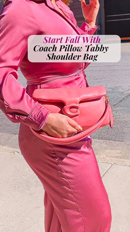 Start Fall with Coach Pillow Tabby Shoulder Bags   #LTKitbag #LTKfit #LTKstyletip