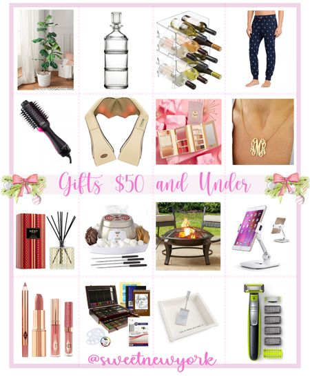 Holiday gift guide gift ideas $50 and under gifts for home gifts for women gifts for men amazon finds http://liketk.it/30fvt #liketkit @liketoknow.it #LTKhome #LTKfamily #LTKunder50