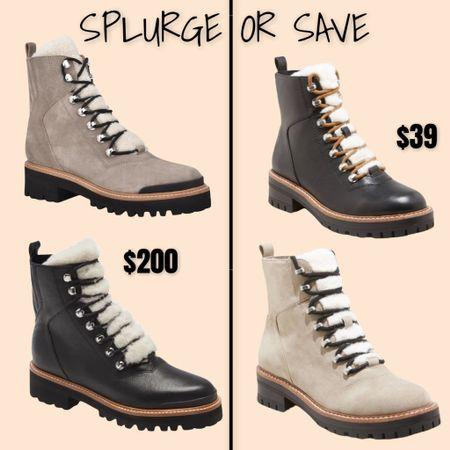 Splurge or save - winter hiking boot   #LTKsalealert #LTKshoecrush #LTKSeasonal