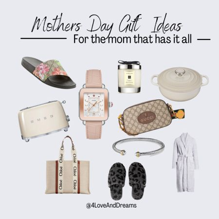 Mother's Day gift guide. Gifts for the mom that has it all.   #LTKunder100 #LTKfamily #LTKitbag
