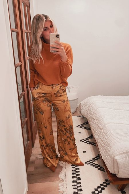 Golden holidays in cashmere and  silk http://liketk.it/33DJE #liketkit @liketoknow.it