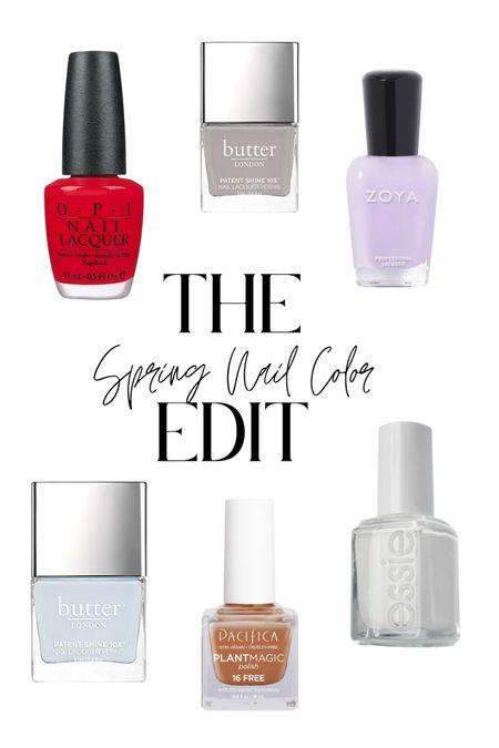 Springs Nail Colors Coming in Hot   #LTKbeauty #LTKSeasonal #LTKstyletip