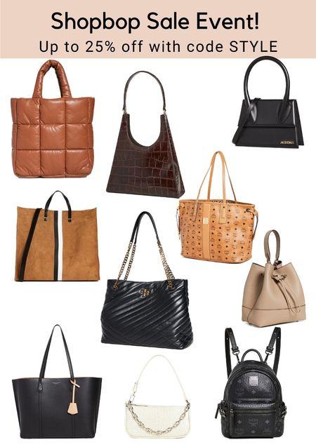 Get up to 25% off in the Shopbop sale event! #LTKstyletip #LTKsalealert #LTKitbag