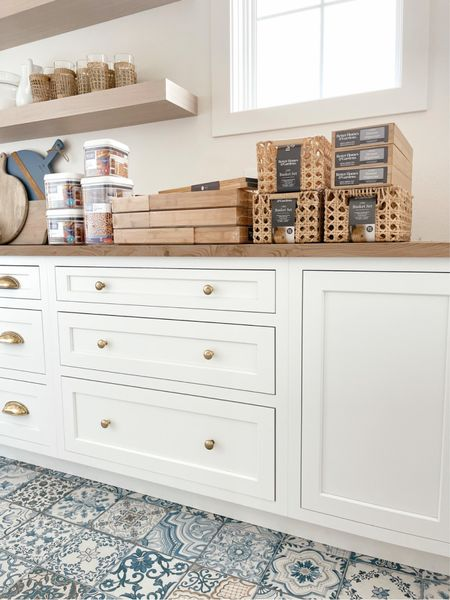Pantry and kitchen drawer organization from Walmart   #LTKhome