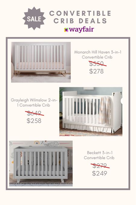 Wayfair Convertible Crib Sale up to 50% off. Shop some of our favorites.   http://liketk.it/3hB2N #liketkit @liketoknow.it #LTKbaby #LTKbump #LTKhome @liketoknow.it.home @liketoknow.it.family  Shop your screenshot of this pic with the LIKEtoKNOW.it shopping app