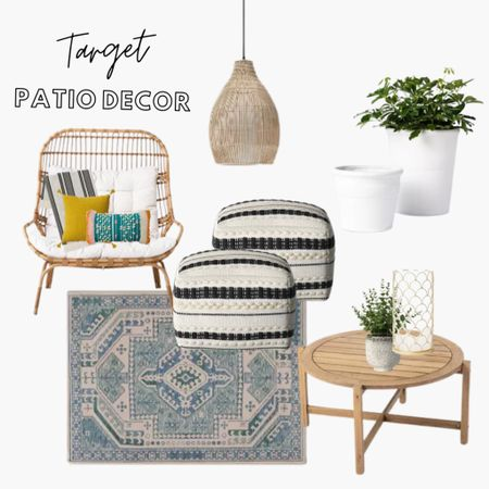 Target Style | Home Decor | Patio Furniture | Patio Sets | Patio Decor | Outdoor Furniture | Outdoor Patio Furniture | Outdoor Living Room   Shop my daily looks by following me on the LIKEtoKNOW.it shopping app.  #StayHomeWithLTK  #LTKhome #LTKSeasonal